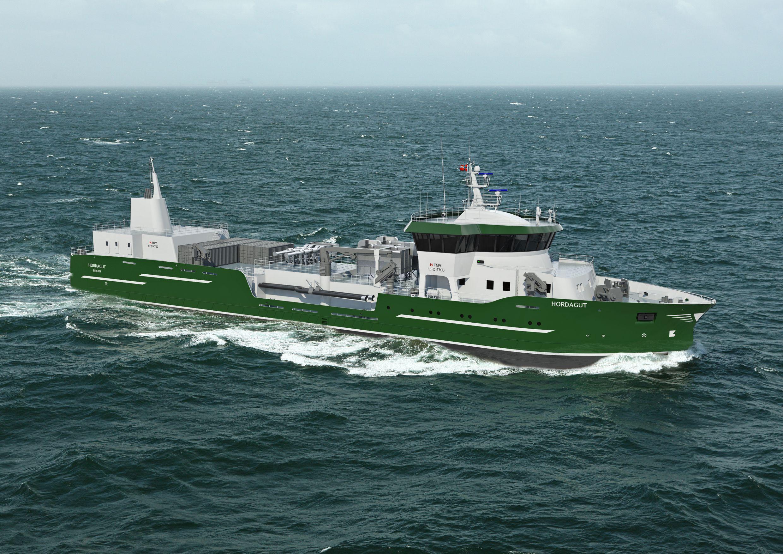 Brønnbåt med nytt HFMV design til nystartet rederi Hordalaks AS